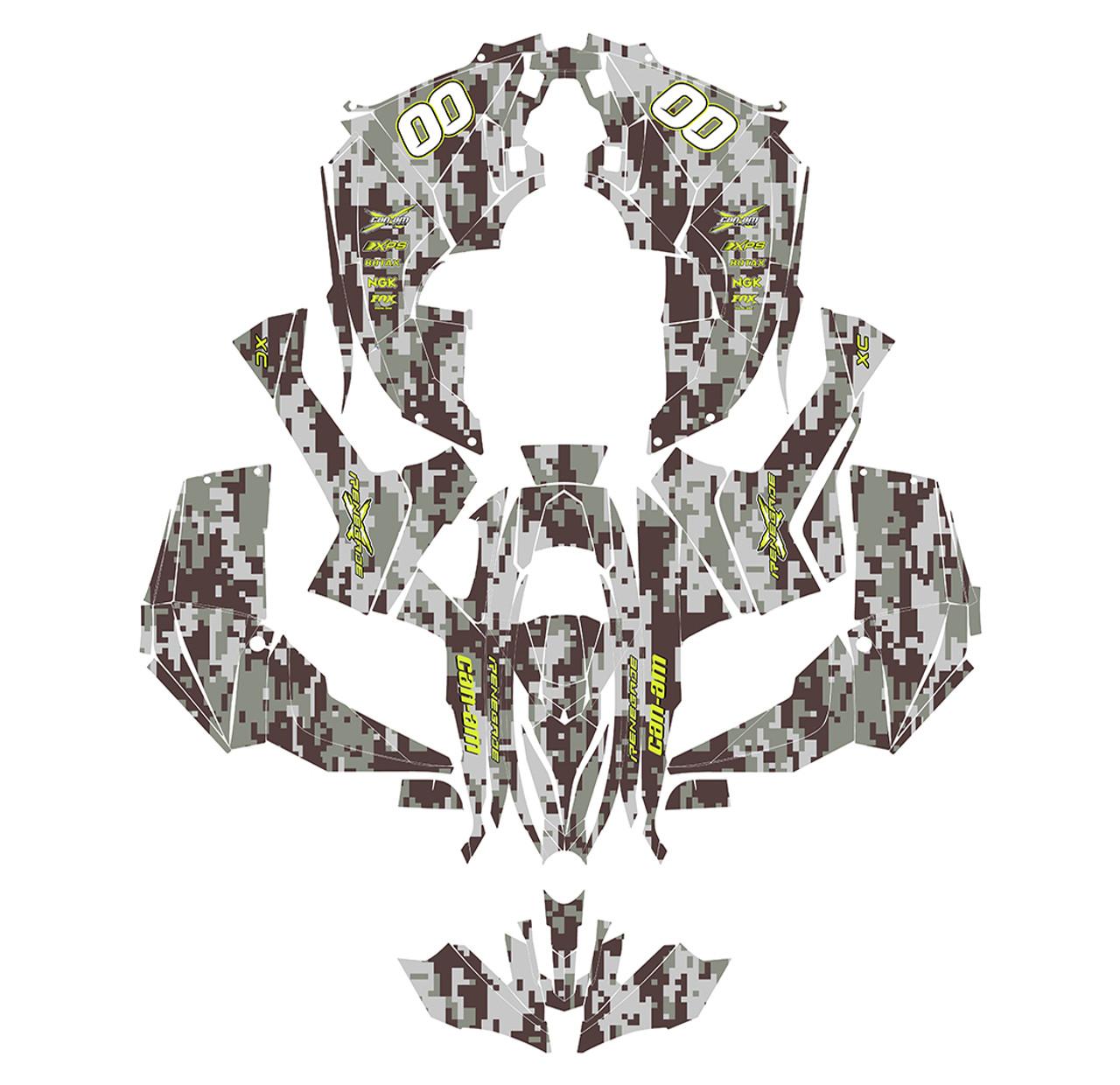 Renegade X 2nd Gen 2017-19-Digital Camo