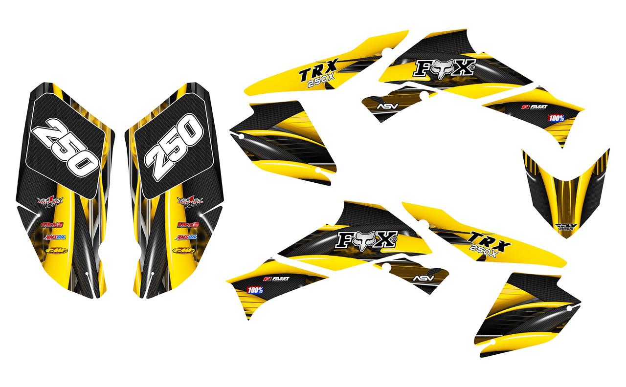 2006-2018 TRX 250EX graphics