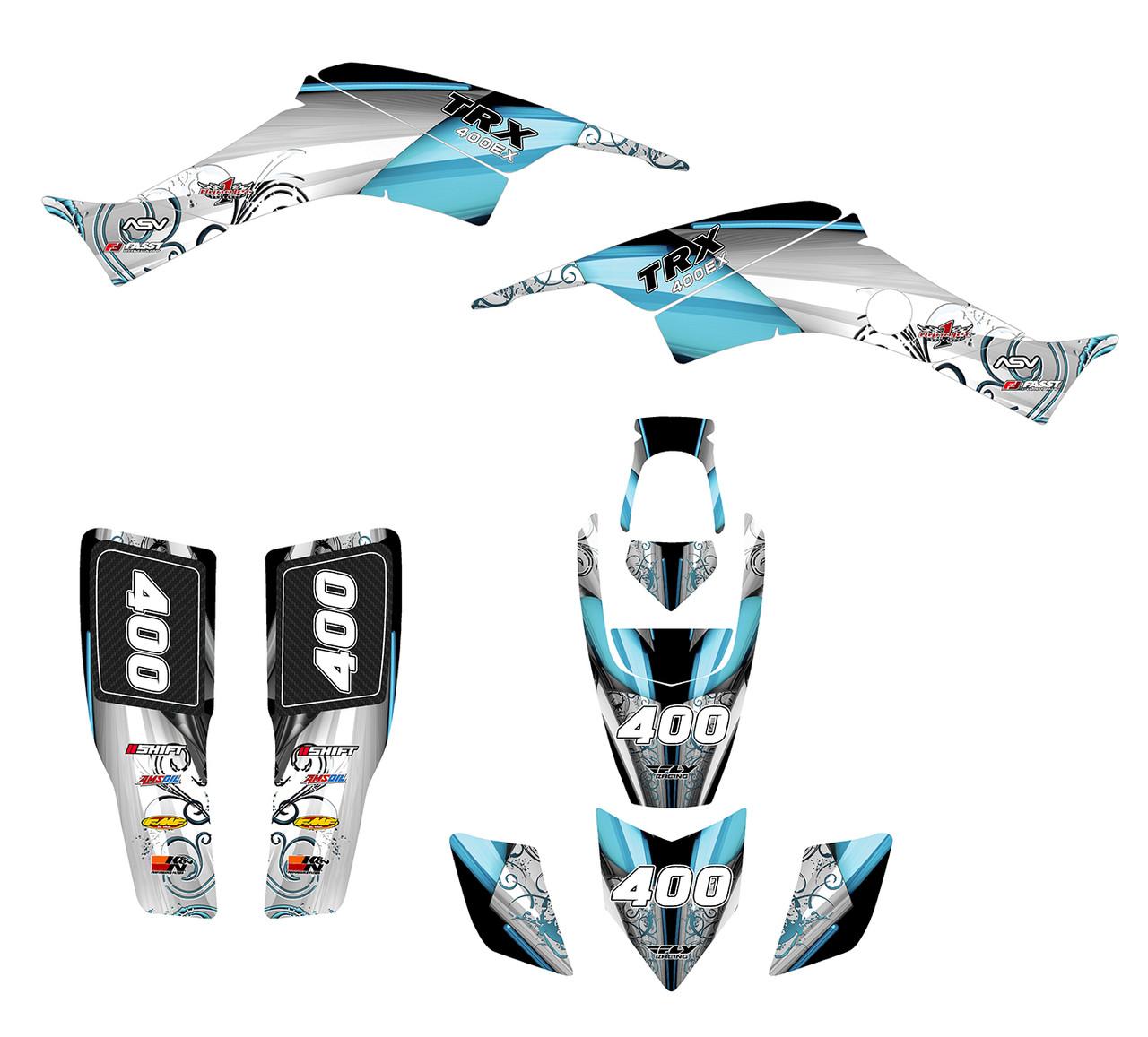 TRX400EX 1999-07 Design 8800