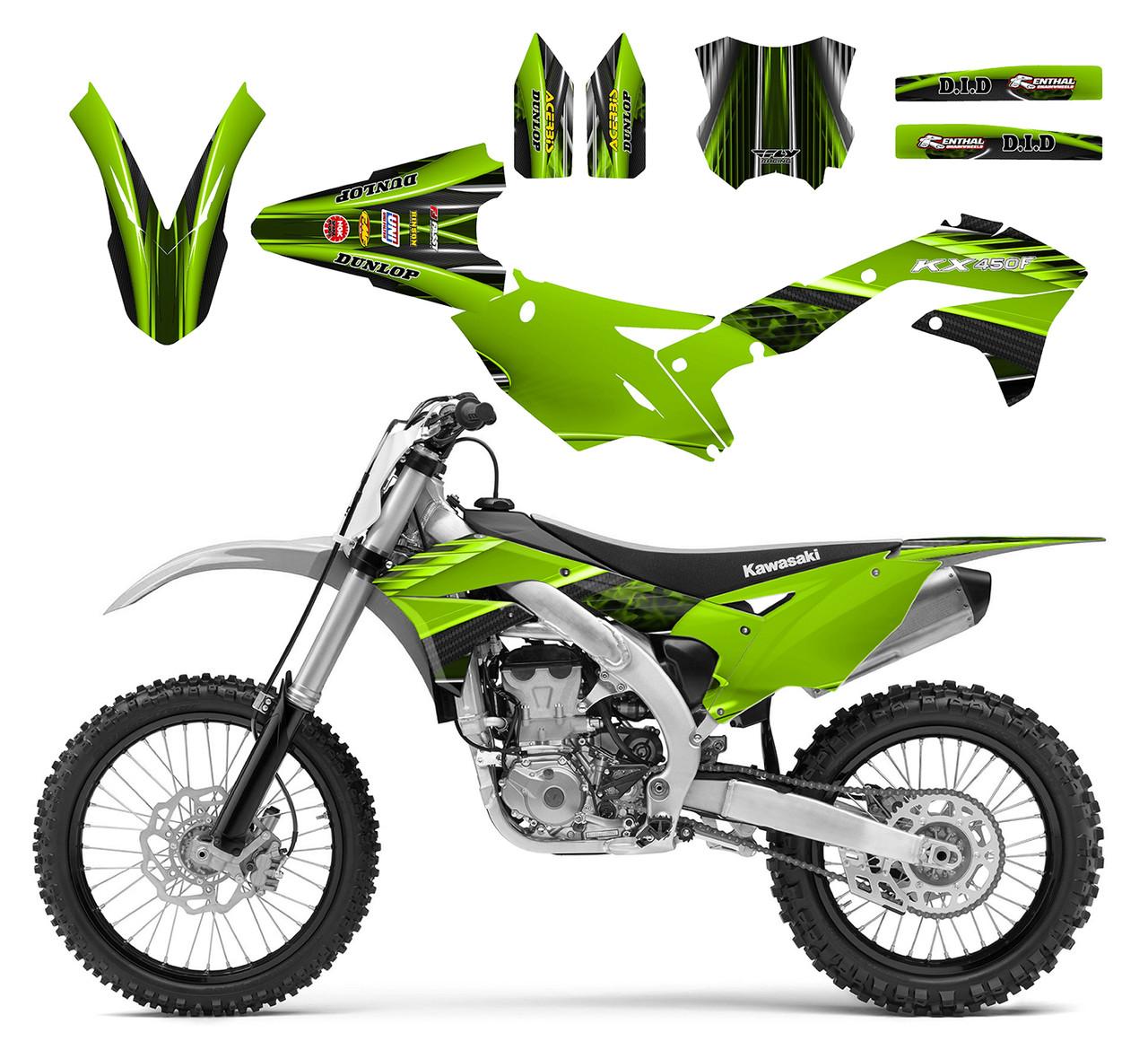 KX 450F 2016 -2018 Design 3333
