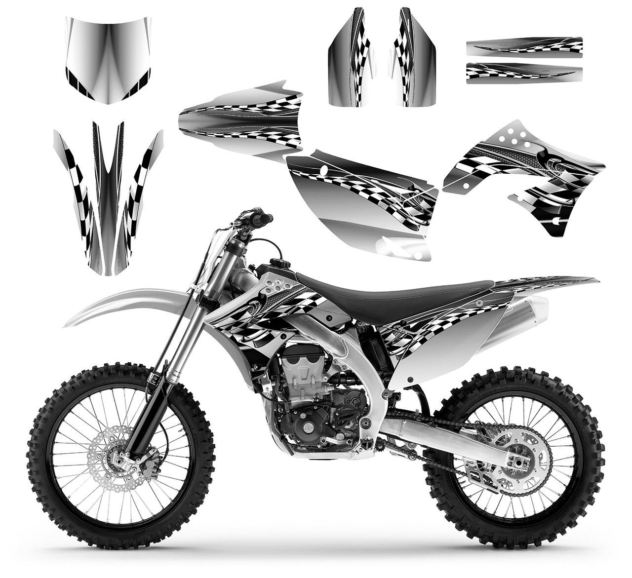2011 kx 450f graphics kit with free custom service
