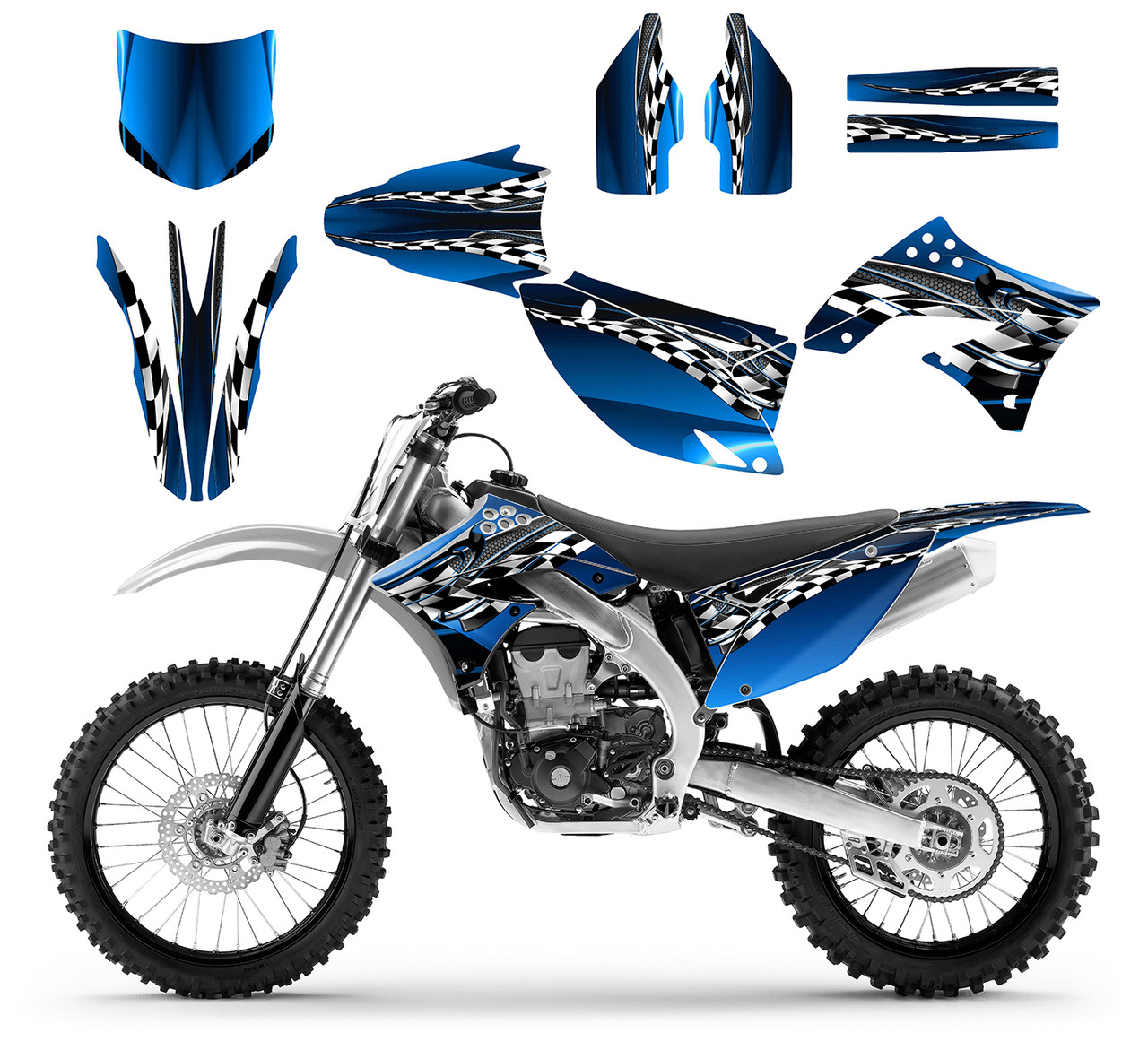 2010 kx 450f graphics kit for kawasaki 4-stroke dirt bike