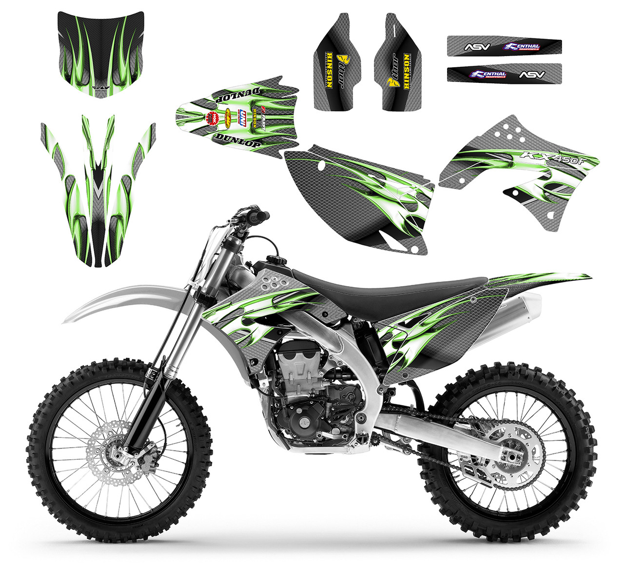 KX 450F 2009 -11 Design 1500