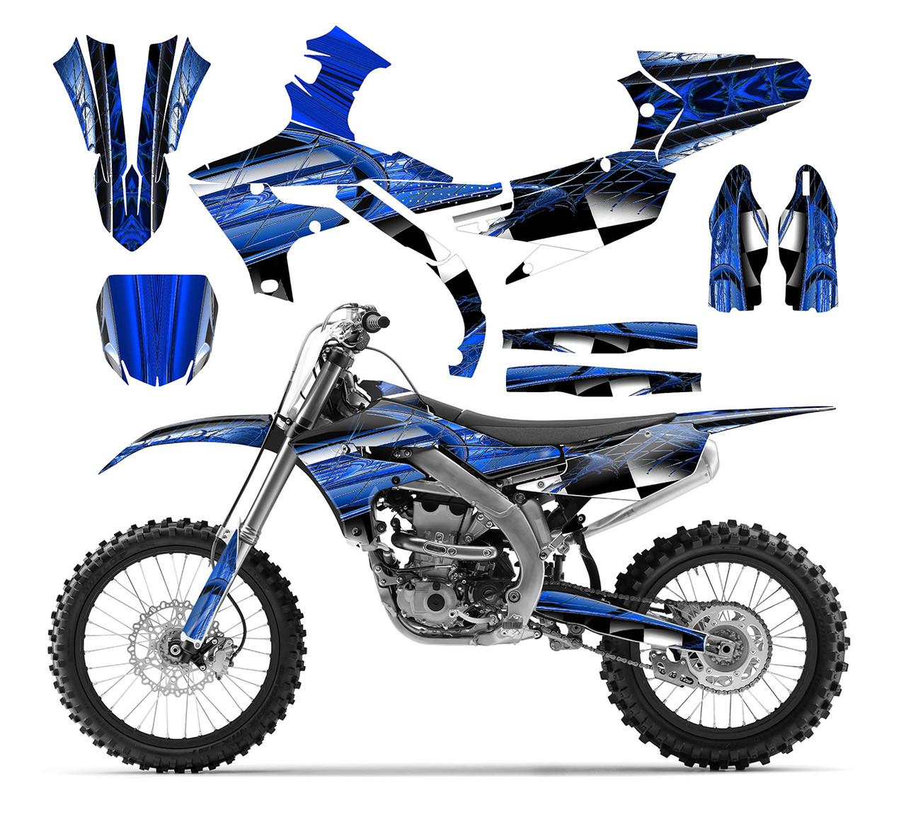YAMAHA YZ-YZF 125-450cc 2018-2020 New Decals kit Graphics kits ...