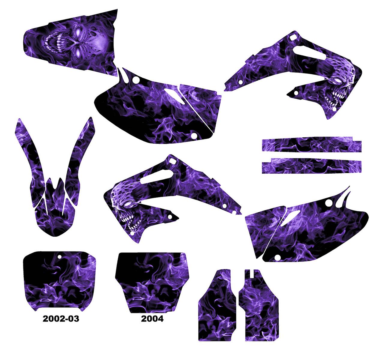 CRF450R 2002-04  Design 9500