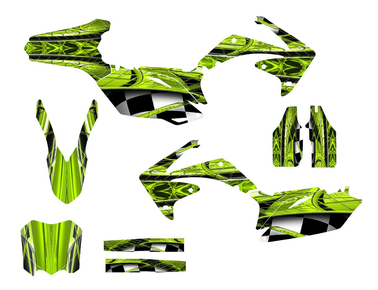 CRF250R-2010-13 & CRF450R 2009-12 Design 2001