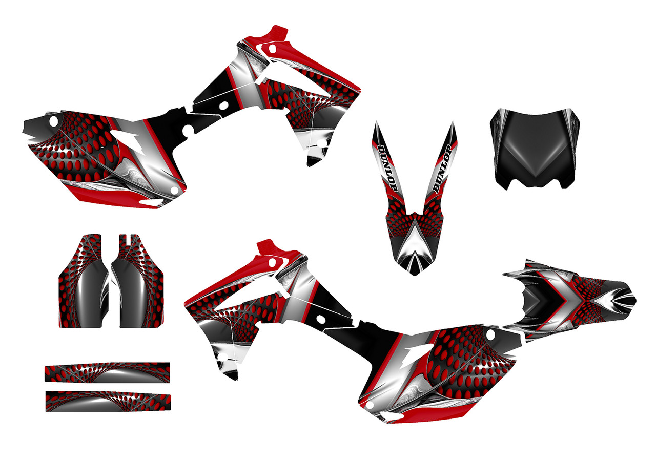 CRF250 CRF 450 13-16 CRF graphics CRF 450 decals MX graphics kit 2013-2016 2015