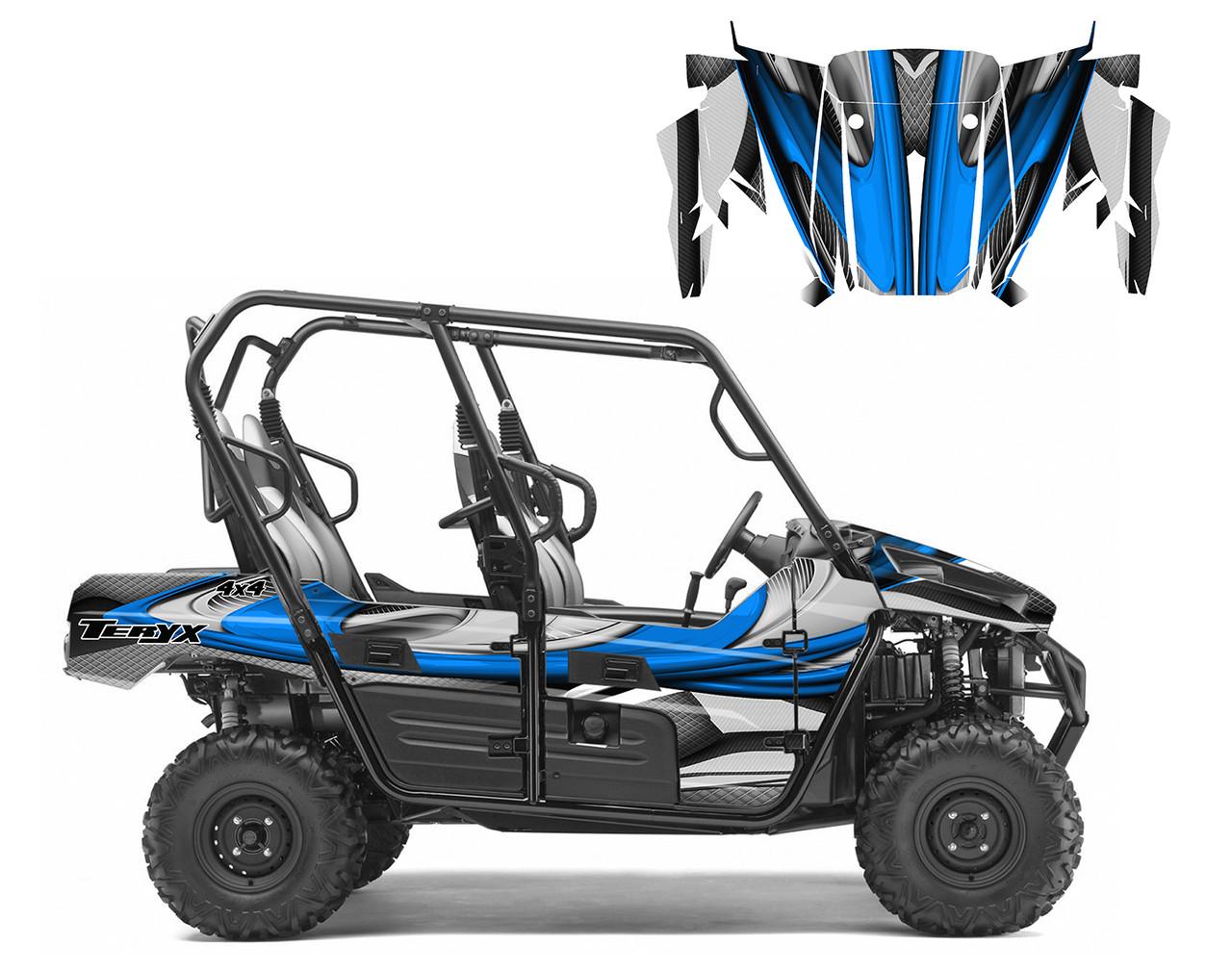 Premium wrap graphics for Kawasaki Teryx