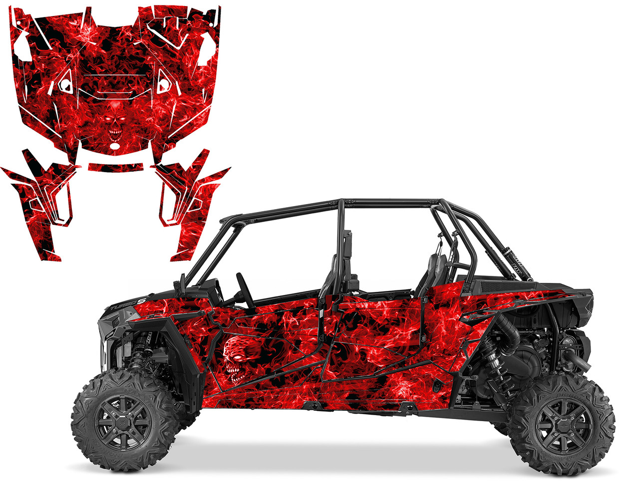 RZR 1000 XP4 TURBO-S 2019 Zombie