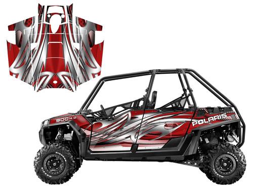 2011-2014 RZR XP4 900 graphics wrap kit