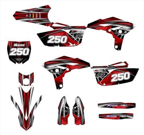 YZ 250F 2010-13 Design 4444