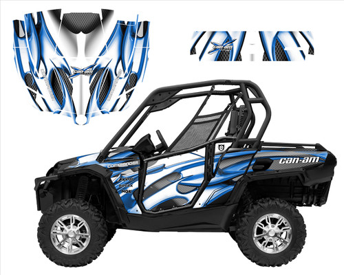 Can am Commander 1000 graphics designed by Allmotorgraphics