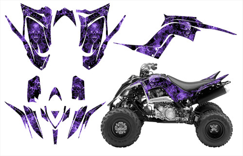 2017 Yamaha Raptor 700R Zombie graphics by allmotorgraphics.biz