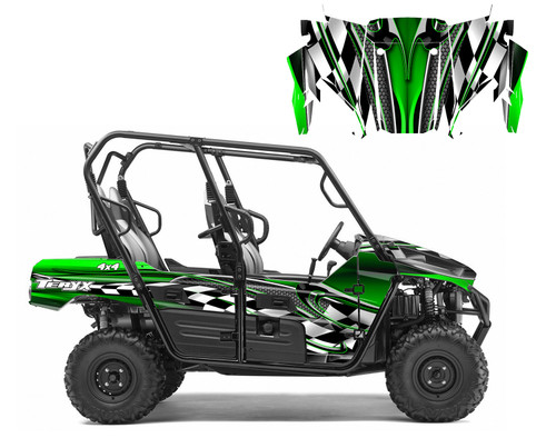 UTV graphics wrap kit for Kawasaki Teryx