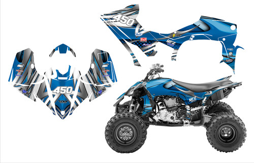 2019 YFZ450R graphics by All Motor Graphics