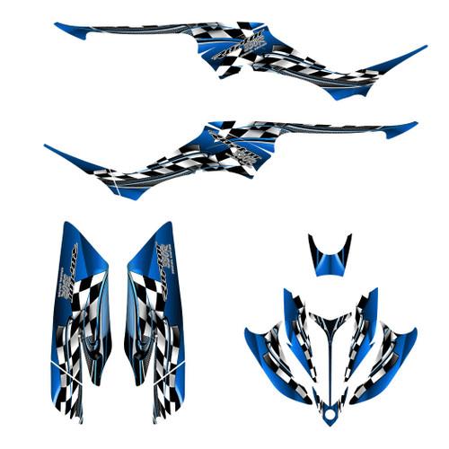 Yamaha Raptor 350 graphics kit by All Motor Graphics