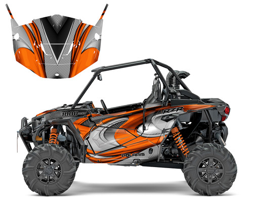 RZR 1000 custom graphics by All Motor Graphics