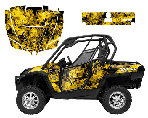 Can am Commander Design 9500 Zombie