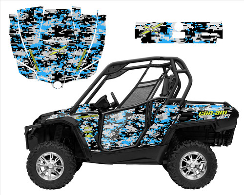 Can am Commander Digital Camo