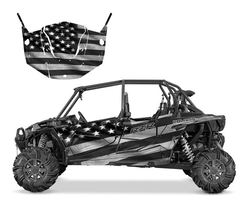 RZR4-1000 4-SEATER 2015-2018 Thin Blue Line