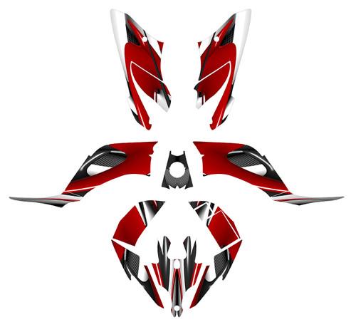 YFM250R graphics wraps