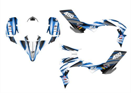 2012 YFZ450R graphics kit