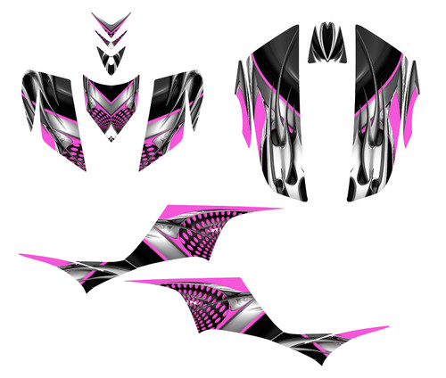 Hot Pink graphics for KFX700