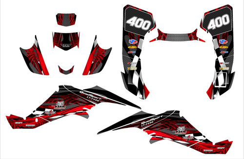 LTZ 400 2003-2008 Design 3500
