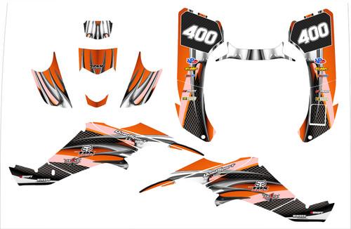 2003 LT 400Z graphic kit