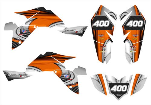 LTZ 400 2009-2016 Design 3737
