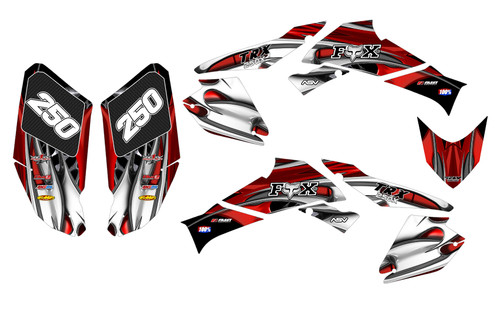 2006 TRX250EX graphics sticker kit