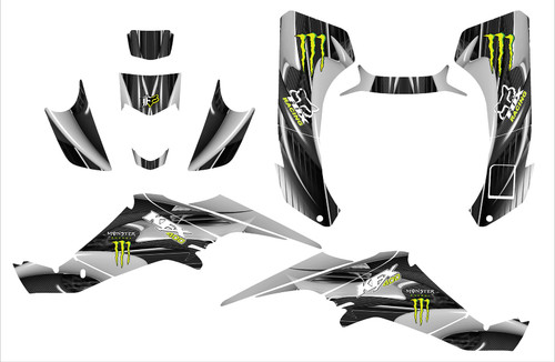 Fox Racing KFX400 graphics