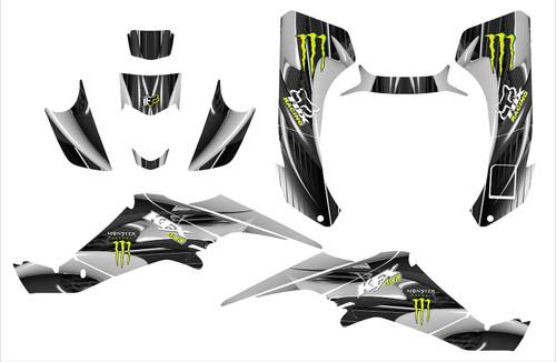 Fox Racing KFX400 graphics