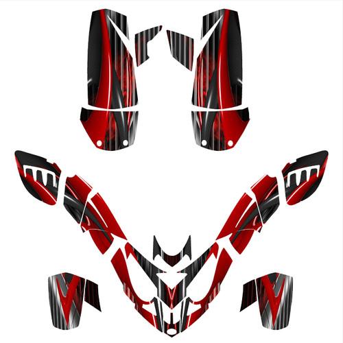 Polaris Predator 500 graphic kit