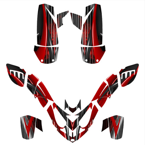 Polaris Predator 500 graphic kit