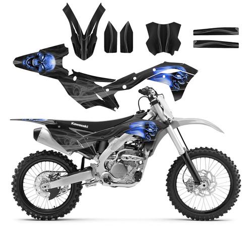 Graphics kit for KX250F 4-STROKE Kawasaki