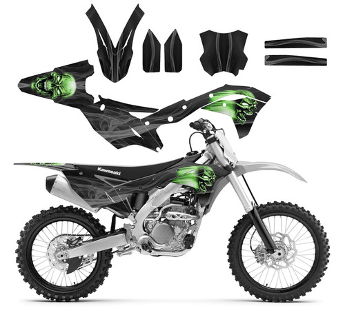 Graphics kit for KX250F 4-STROKE Kawasaki