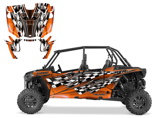 2019 Polaris RZR xp 4 Turbo s graphics with matching door wrap
