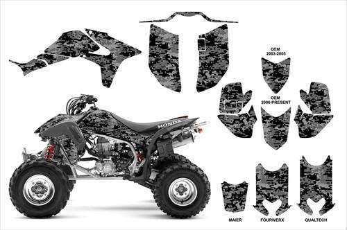 TRX 450r digital camo graphics kit