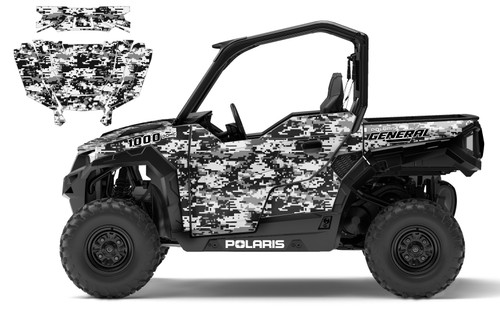 Polaris General 1000 digital camo wrap kit
