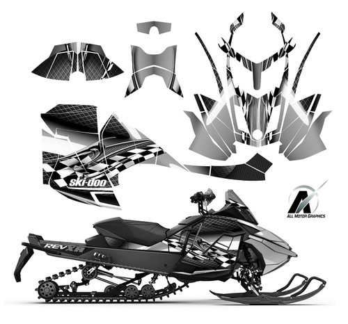 Ski-doo REV XR MXZ Renegade 1200 graphic kit