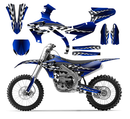 2018-2020 Yamaha YZ250f graphics sticker kit by allmotorgraphics