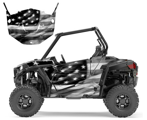 RZR-900 2015-18 Tattered American Flag