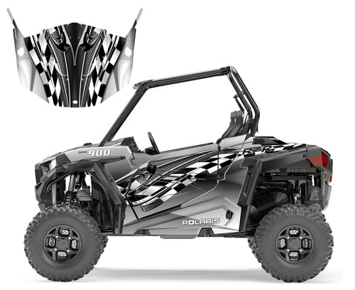 2016 Polaris RZR 900xp custom graphics wrap kit