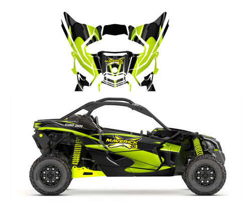 Maverick X3 custom graphics design 1533