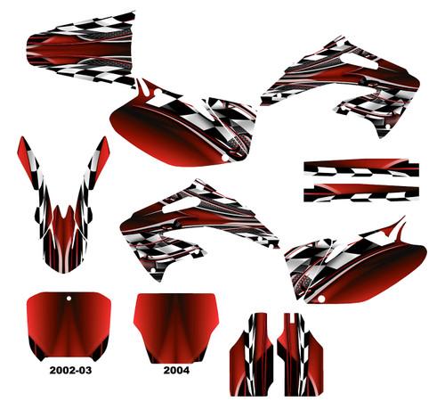 CRF450R 2002-04  Design 2500