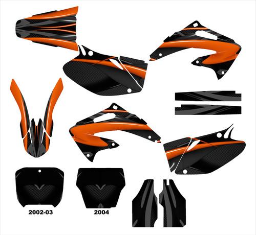 CRF450R 2002-04  Design 1533