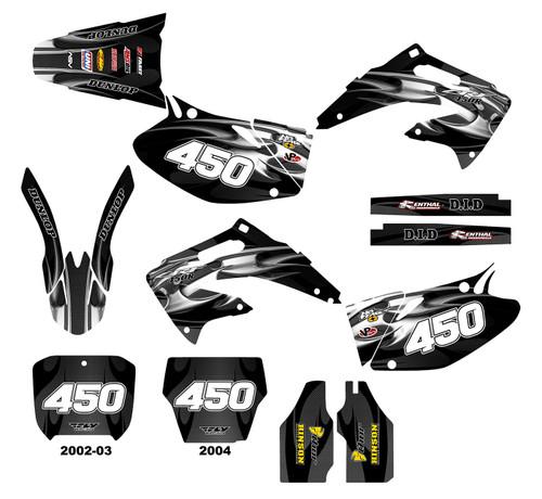 CRF450R 2002-04  Design 2615