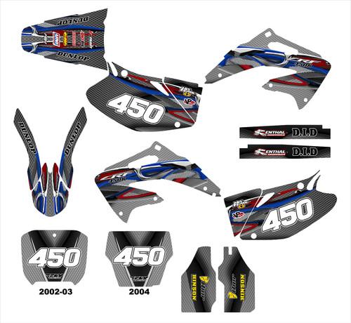 CRF450R 2002-04  Design 5815