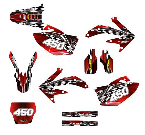 CRF450R 2005-08  Design 2500